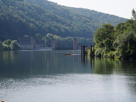 Heidelberg, Bricks Live, Schlierbach, Neckar, Summer