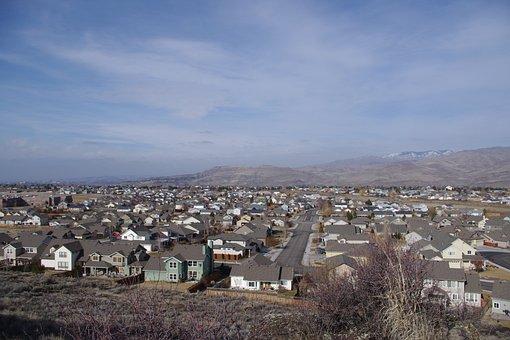 City, Neighborhood, Foothills, Homes, Subdivision