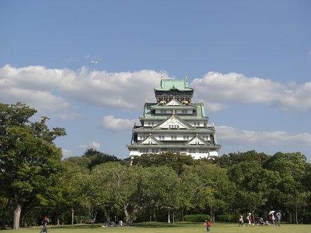 Osaka Castle, The Castle Tower, Kinjo, Geumseong, Jet