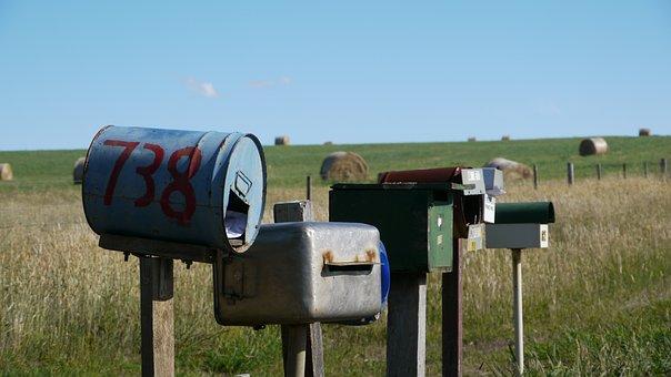 Letter Boxes, Australia, Wasteland