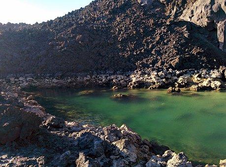 Gran Canaria, La Palma, Los Volcanes De Teneguía, Spain