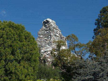 Matterhorn, Disneyland Matterhorn, California Tourism