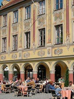 Street Cafe, Magnificent Façade, Mediterranean Flair