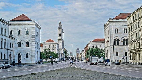Munich, Bavaria, University Of Munich, State Capital