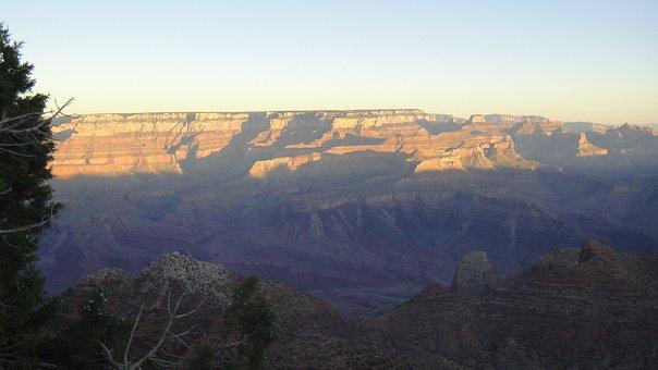 Grand Canyon, Arizona, Usa, Sunrise, Park, National