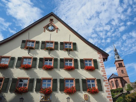 Town Hall, House, Laufenburg, Front, Facade