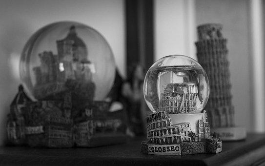 Glass Spheres, Glass Sphere, Gift, Travel, Italy, Rome