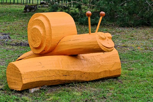 Sculpture, Forest, Fig, Wood, Happiness Burger Heath