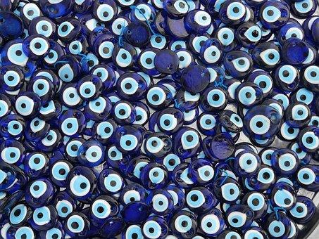 Nazar Amulets, Amulets, Nazar, Bad Look, Blue