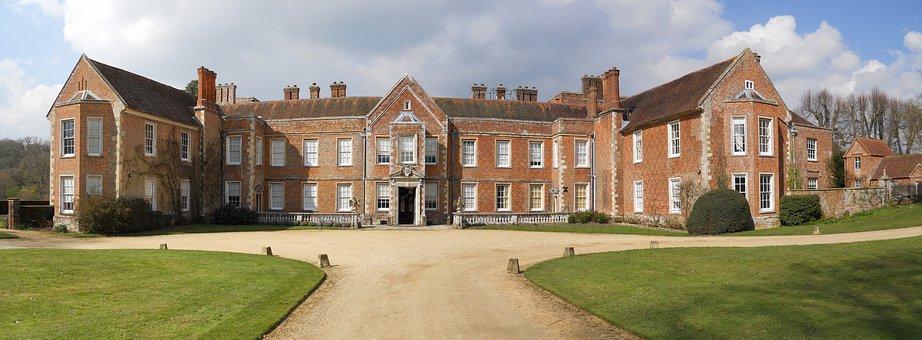 England, Panorama, The Vyne, Tudor House, Basingstoke