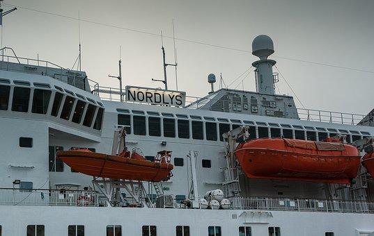 Ferry, Lifeboats, Bridge, Navigation