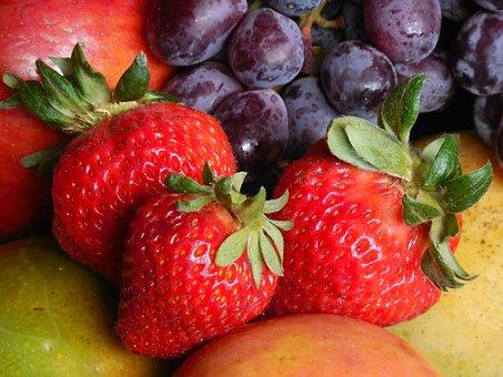 Bowl, Fruit, Food, Healthy, Fresh, Diet, Sweet