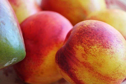 Nectarine, Mango, Fruits, Sweet, Healthy, Delicious