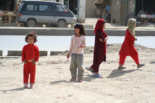 Afghan, Kids, Children, Poor, Poverty, Orphanage, Child