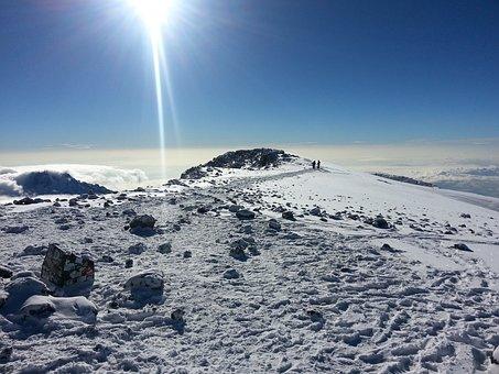 Kilimanjaro, Africa, Blu Sky, Adventure, Landscape