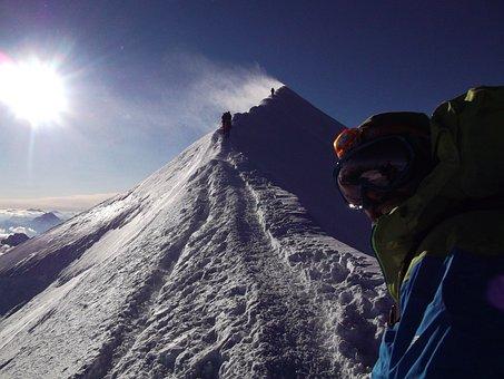 Ridge, Bosses Ridge, Montblanc, Mont Blanc, Altitude