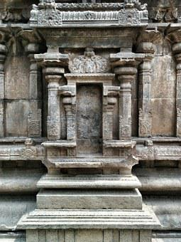 Vellore, Temple, Ancient, Hindu, Tamil, Nadu