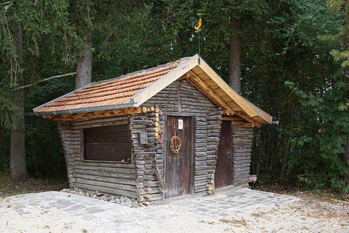 Hut, House, Wood, Danube Valley, Nature, Beuron