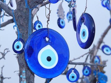 Nazar Amulet, Amulet, Nazar, Bad Look, Blue, Black Eye