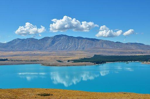 Lake Tekapo, Serenity, Lakefront, New Zealand