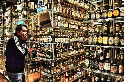 Beer, Alcohol, Pub, Glass, Refreshment, Drunk, Bottle