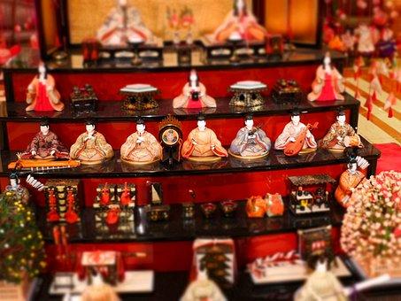 Japan, Hotel, Doll Festival, Souvenir, Shop