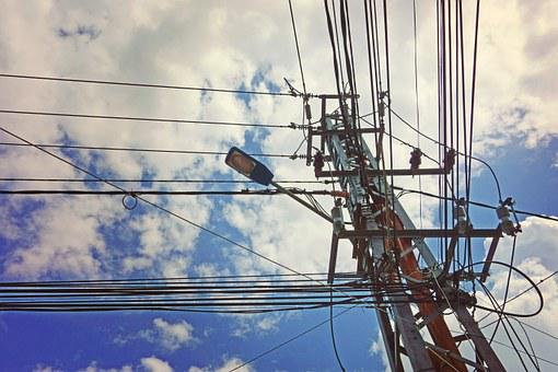 Power, Utility, Pole, Electricity, Energy, Technology