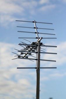 Aerial, Television, Sky, Antenna, Tv, Telly, Technology