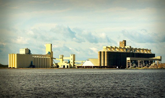 Grain Elevators, Lake Superior, Wisconsin, Industry