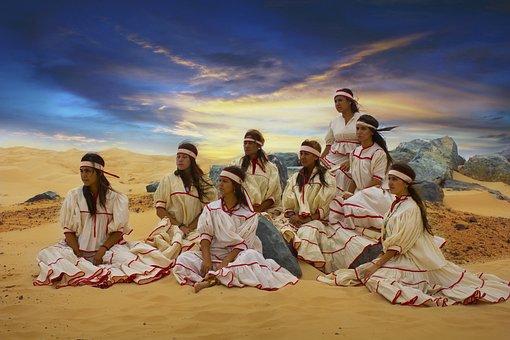Raramuris, Native, Chihuahua, Mexican, Skirmish