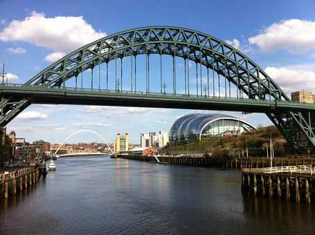 Newcastle, Bridge, Sage, River, England, City