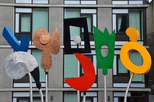 Street Art, Three Dimensional, 3d, Colorful, Art