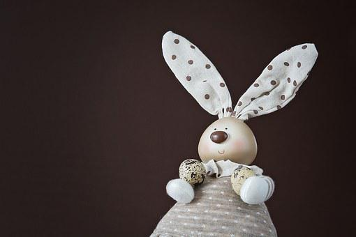 Deco-hase, Easter Bunny, Quail Eggs, Easter, Deco
