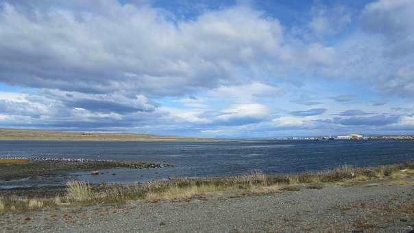Feuerland, Chile, Sky, Flat Land, Clouds
