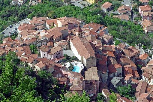 Maratea, Basilicata, Italy, Village, Historical Centre