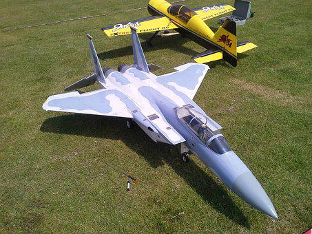 F15, Model Aircraft, Radio Control, Jet, Plane