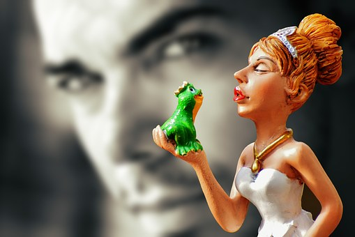 Kiss The Frog, Prince, Fairy Tales, Kiss, Frog, Funny