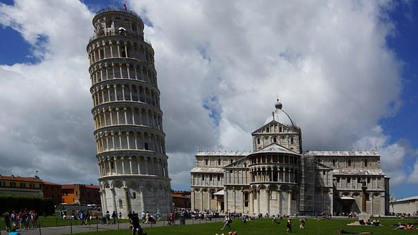 Pisa, Leaning Tower, Italy, Places Of Interest