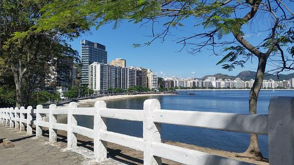 Mirante, Landscape, Sol, City, Urban, Niterói