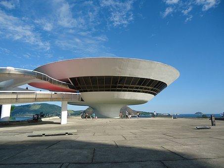 Museum, Oscar Niemeyer, Niterói