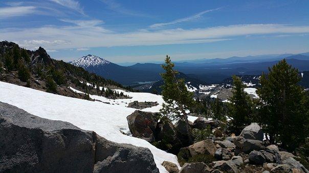Mountain, Oregon, Three Sisters, Nature