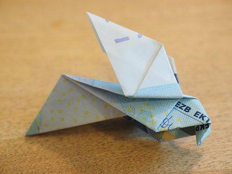 Origami, Paper Folds, Fold, Bird, Paper Folding Art