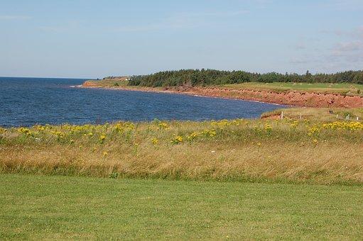 Coastline, Prince Edward Island, Canada, Landscape