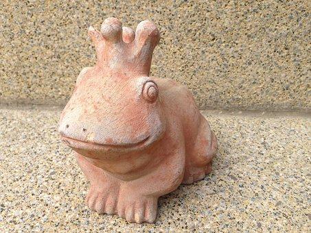 Frog Prince, Frog, Kiss, Prince, Sound, Sculpture