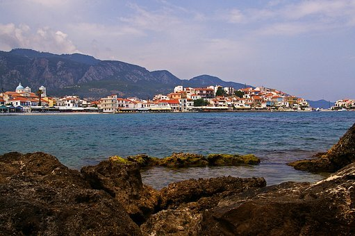 Samos, Island, Greece, Holiday, Sea, Beach, Water