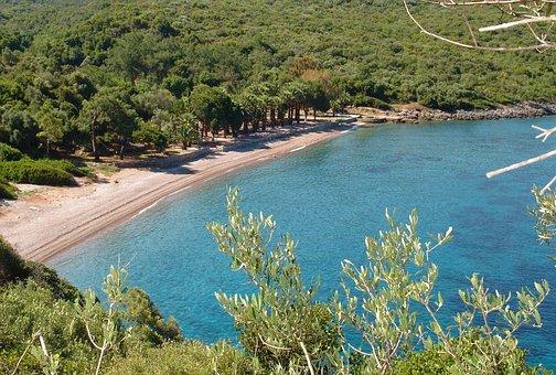 Turkey, Datca, Beach, Booked, Sea