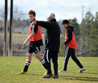 Soccer, Spring, Outdoors, Playing, Soccer Field