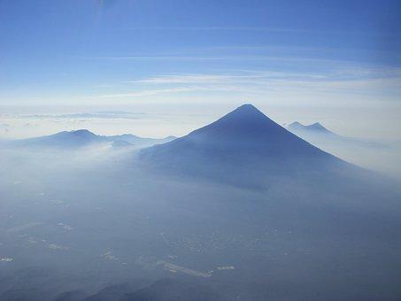 Volcan De Agua, Volcano, Cone, Shape, Stratovolcanoes