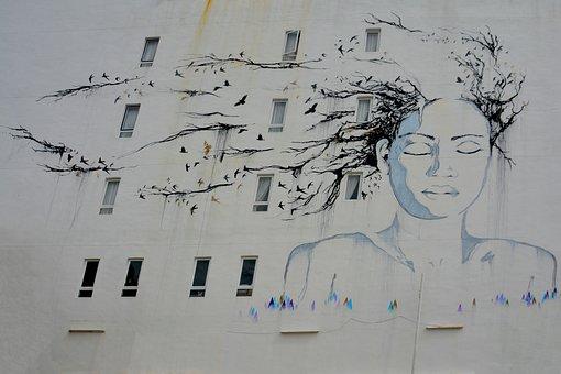 Street Art, Graffiti, Wall, Street, Urban, Paint, Spray