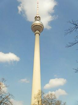 Tv Tower, Berlin, Germany, Tour, Tourism